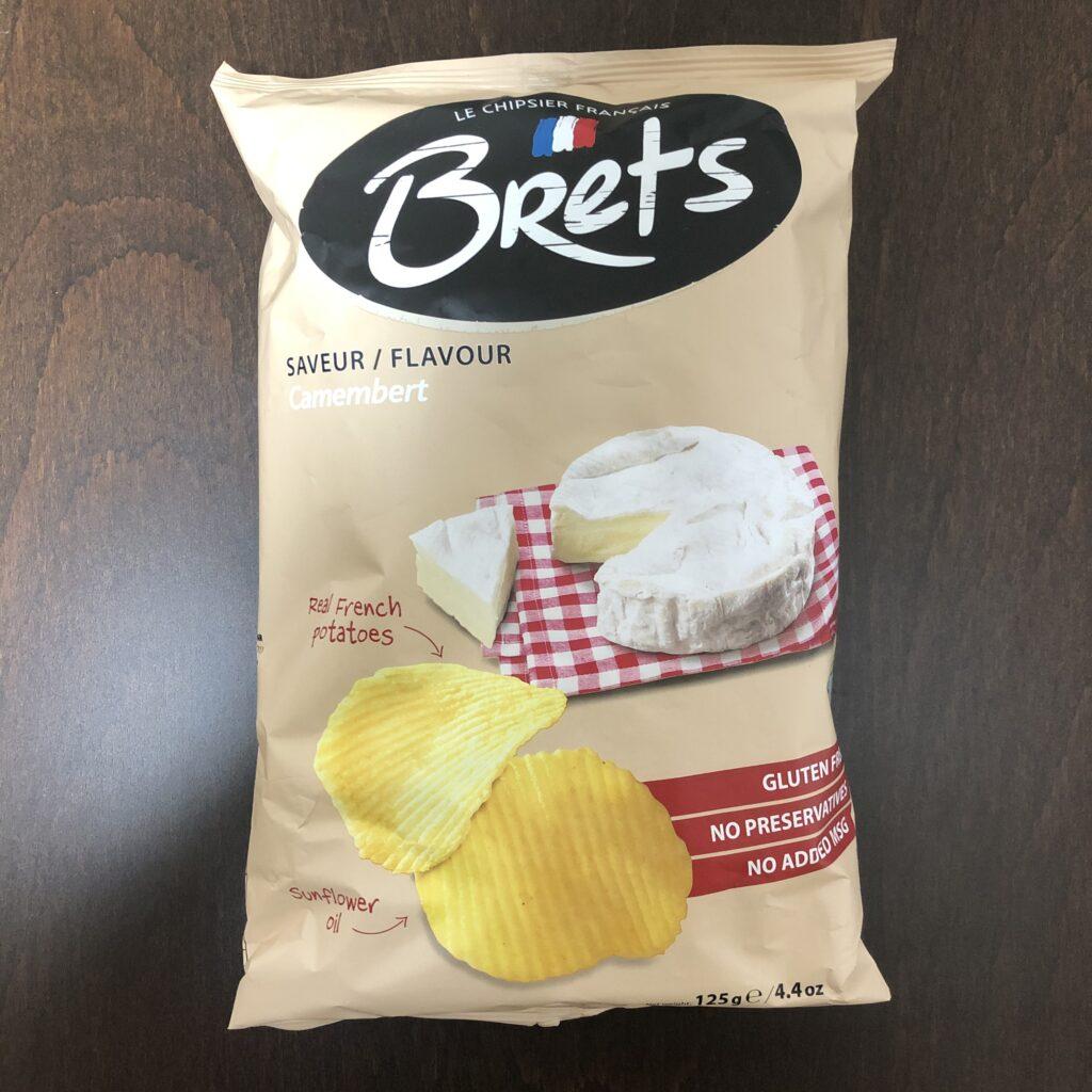 「Brets(ブレッツ) ポテトチップス カマンベールチーズ味」