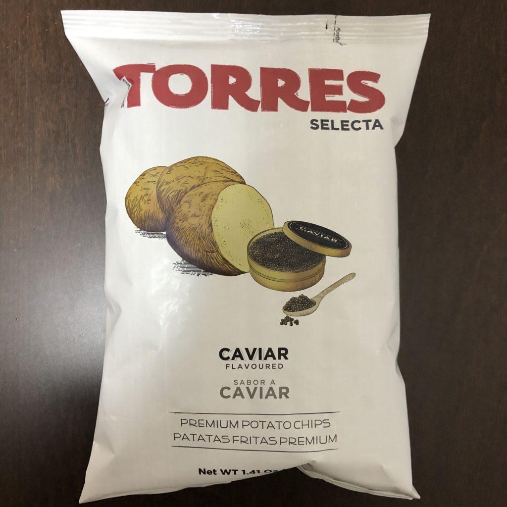 「TORRES(トーレス) ポテトチップス キャビア味」