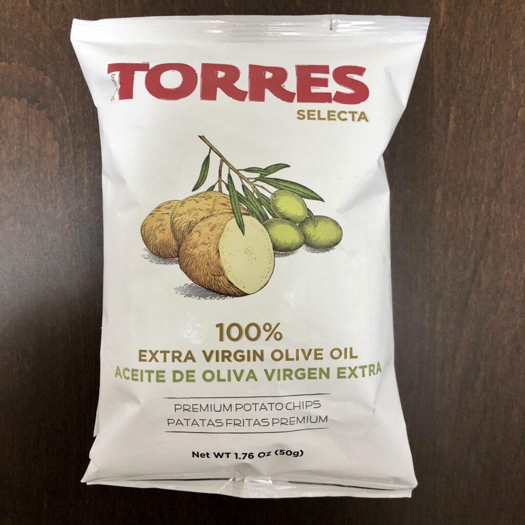 「TORRES(トーレス) ポテトチップス 100%オリーブオイル」